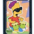 BART SIMPSON 2000 Inkworks #73 Beatni Kids
