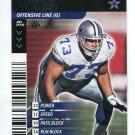 LARRY ALLEN 2001 NFL Showdown First 1st Edition #116 Dallas Cowboys