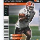 QUINCY MORGAN 2001 NFL Showdown First & Goal #124 ROOKIE Browns KANSAS STATE Wildcats