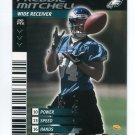 FREDDIE MITCHELL 2001 NFL Showdown First & Goal #113 ROOKIE Eagles UCLA Bruins