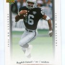 RAGHIB ROCKET ISMAIL 2006 Upper Deck UD Legends #47 Raiders NOTRE DAME Irish