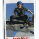 ALEXIS SABLONE 2012 Sports Illustrated SI for Kids #166 ROOKIE Skateboarder