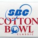 CHECKLIST 2005 SBC Cotton Bowl Hall of Fame card