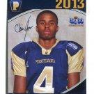 CHRIS JONES 2013 Pennsylvania PA Big 33 High School card COASTAL CAROLINA WR