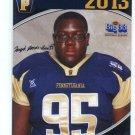 JARYD JONES-SMITH 2013 Pennsylvania PA Big 33 High School card PITT Panthers OT