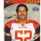 JAI FRANKLIN 2013 Maryland MD Big 33 High School card OLD DOMINION DL