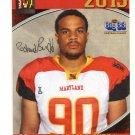 RASHARD BUDD 2013 Maryland MD Big 33 High School card LACKAWANNA DL