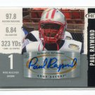 PAUL RAYMOND 2008 Sage Hit Silver #A71 AUTO Autograph ROOKIE New York NY Jets BROWN University