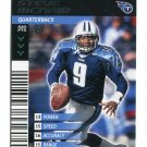 STEVE McNAIR 2001 NFL Showdown 1st First Edition #440 Titans QB RIP