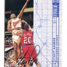 STACEY AUGMON 1994 Upper Deck UD Collector's Choice Silver Script SP #372 Hawks UNLV