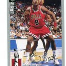 DICKEY SIMPKINS 1994 Upper Deck UD Collector's Choice Silver Script SP #262 Bulls