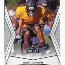 ROB HERRON 2014 Leaf Draft #49 Rookie WYOMING WR Quantity QTY
