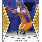 DAVID FALES 2014 Leaf Draft GOLD SP #82 Rookie SAN JOSE STATE QB