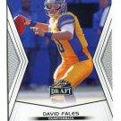 DAVID FALES 2014 Leaf Draft #82 Rookie SAN JOSE STATE QB Quantity QTY