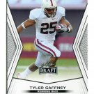TYLER GAFFNEY 2014 Leaf Draft #86 Rookie STANFORD Cardinal RB Quantity QTY
