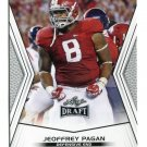 JEOFFREY PAGAN 2014 Leaf Draft #87 Rookie ALABAMA Tide DE Quantity QTY