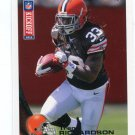 TRENT RICHARDSON 2012 Topps Kickoff #8 ROOKIE INSERT Browns ALABAMA Crimson Tide COLTS