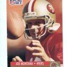 JOE MONTANA 1991 Pro Set #3 49ers NOTRE DAME Irish QB