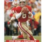 STEVE YOUNG 1991 Pro Set #296 49ers BYU Cougars QB