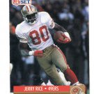 JERRY RICE 1991 Pro Set #11 49ers