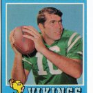 NORM SNEAD 1971 Topps #184 Eagles VIKINGS Wake Forest QB