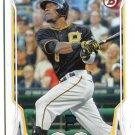 STARLIN MARTE 2014 Bowman #14 Pittsburgh Pirates