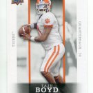 TAJH BOYD 2014 Upper Deck Star Rookies #8 ROOKIE CLEMSON Tigers STEELERS QB Quantity QTY