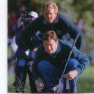 COLIN MONTGOMERY / NICK FALDO 2013 SP Authentic Moments #73 PGA Golf