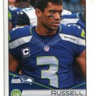RUSSELL WILSON 2014 Panini Stickers #444 Seahawks WISCONSIN Badgers QB