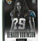 DENARD ROBINSON 2013 Panini HRX #17 ROOKIE Jaguars MICHIGAN Wolverines QB