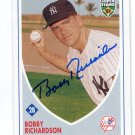 PW) BOBBY RICHARDSON 2002 Topps Super Teams IP AUTO #60 New York NY Yankees