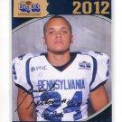 MICHAEL FELTON 2012 Big 33 PA High School AUTO INSCRIPTION card TEMPLE Owls WR
