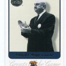 PW) COACH ADOLPH F. RUPP 2001 Fleer Greats of the Game #1 KENTUCKY