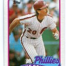 MIKE SCHMIDT 1989 Topps #100 Philadelphia Phillies