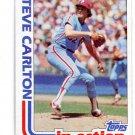 STEVE CARLTON 1982 Topps IA #481 Philadelphia Phillies