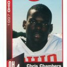 CHRIS CHAMBERS 1997 Big 33 Ohio OH High School card WISCONSIN Badgers DOLPHINS