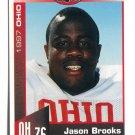 JASON BROOKS 1997 Big 33 Ohio OH High School card MICHIGAN Wolverines