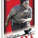 MALCOM BROWN 2015 Sage Hit #29 ROOKIE Texas Longhorns PATRIOTS DT