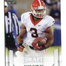 TODD GURLEY 2015 Leaf Draft #55 ROOKIE Georgia Bulldogs RAMS RB