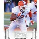 VIC BEASLEY 2015 Leaf Draft #61 ROOKIE Clemson Tigers FALCONS LB