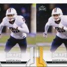 AUSTIN HILL 2015 Leaf Draft GOLD #4 ROOKIE Arizona Wildcats WR