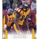 TITUS DAVIS 2015 Leaf Draft GOLD #78 ROOKIE Central Michigan WR