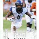 KEVIN WHITE 2015 Leaf Draft #35 ROOKIE West Virginia Mountaineers BEARS WR