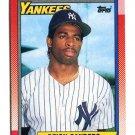 DEION SANDERS 1990 Topps #61 ROOKIE New York NY Yankees FLORIDA STATE Seminoles