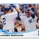 ALFONSO SORIANO 2013 Topps Update #US212 New York NY Yankees