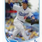 JOSE DOMINGUEZ 2013 Topps Update #US109 ROOKIE Dodgers