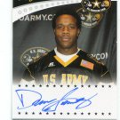 DELVON SIMMONS 2011 Leaf Army All-American TOUR AUTO Texas Tech Red Raiders