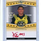 KYLIE FITTS 2013 Leaf Army All-American TOUR AUTO UCLA Bruins UTAH Utes DE #d/10