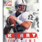 KERRY COLLINS 1996 Classic NFL Greats #77 Penn State CAROLINA Panthers QB
