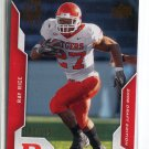RAY RICE 2008 Upper Deck UD Draft Edition #85 ROOKIE Baltimore Ravens RUTGERS #d/175